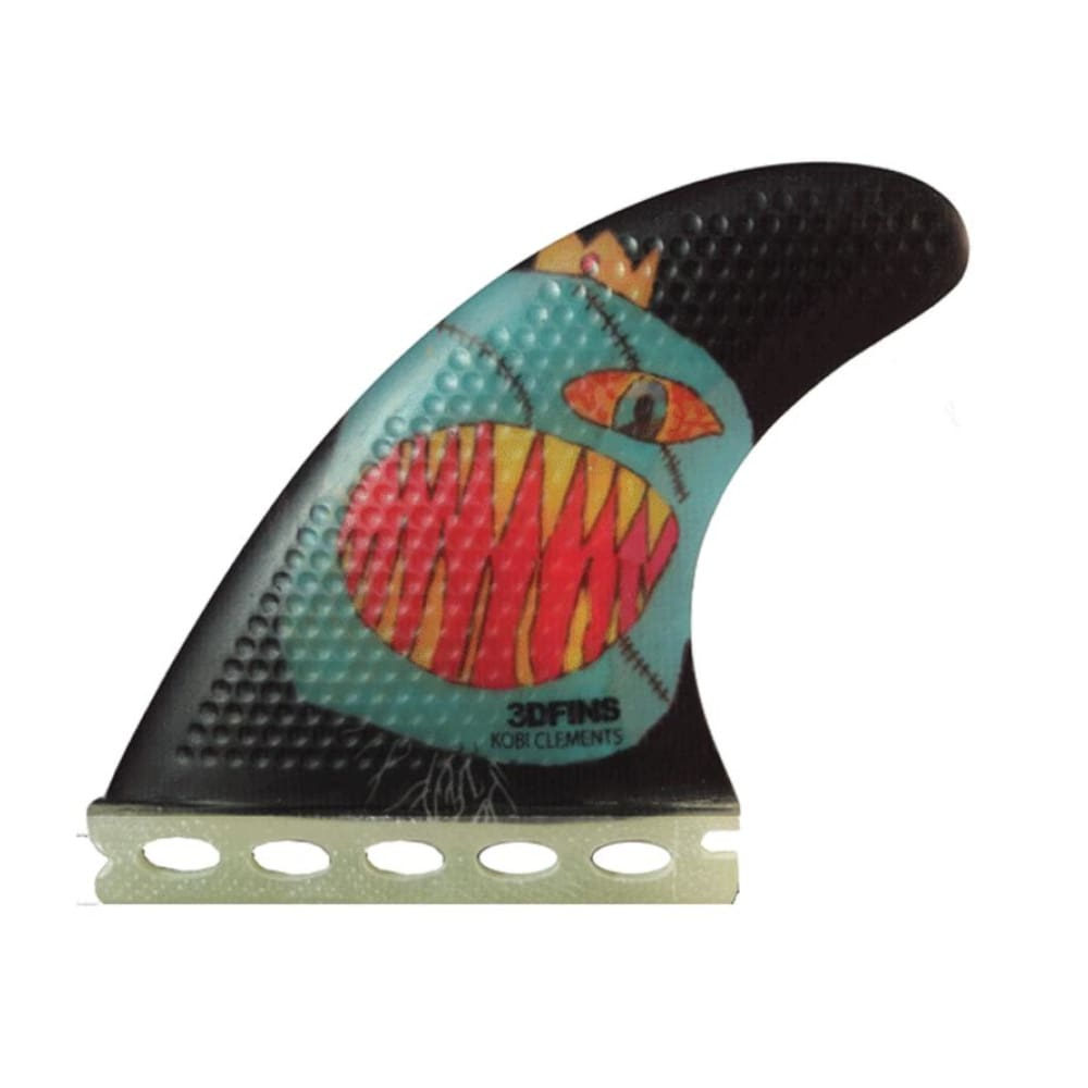 3Dfins Fin Monsta Small Thruster Fin (Dimple Technology) - 3Dfins - Thruster Fins