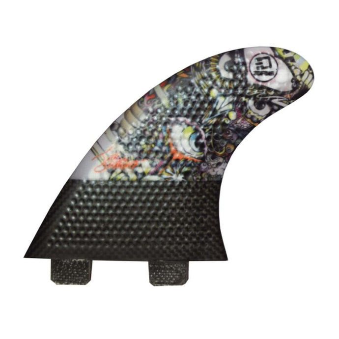 3Dfins Wise Owl 5.0 Medium Thruster Fin (Dimple Technology) - 3Dfins - Thruster Fins