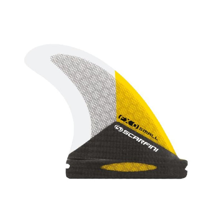 Scarfini Carbon Base Thruster Set - Extra Small (Yellow) - Scarfini - Thruster Fins