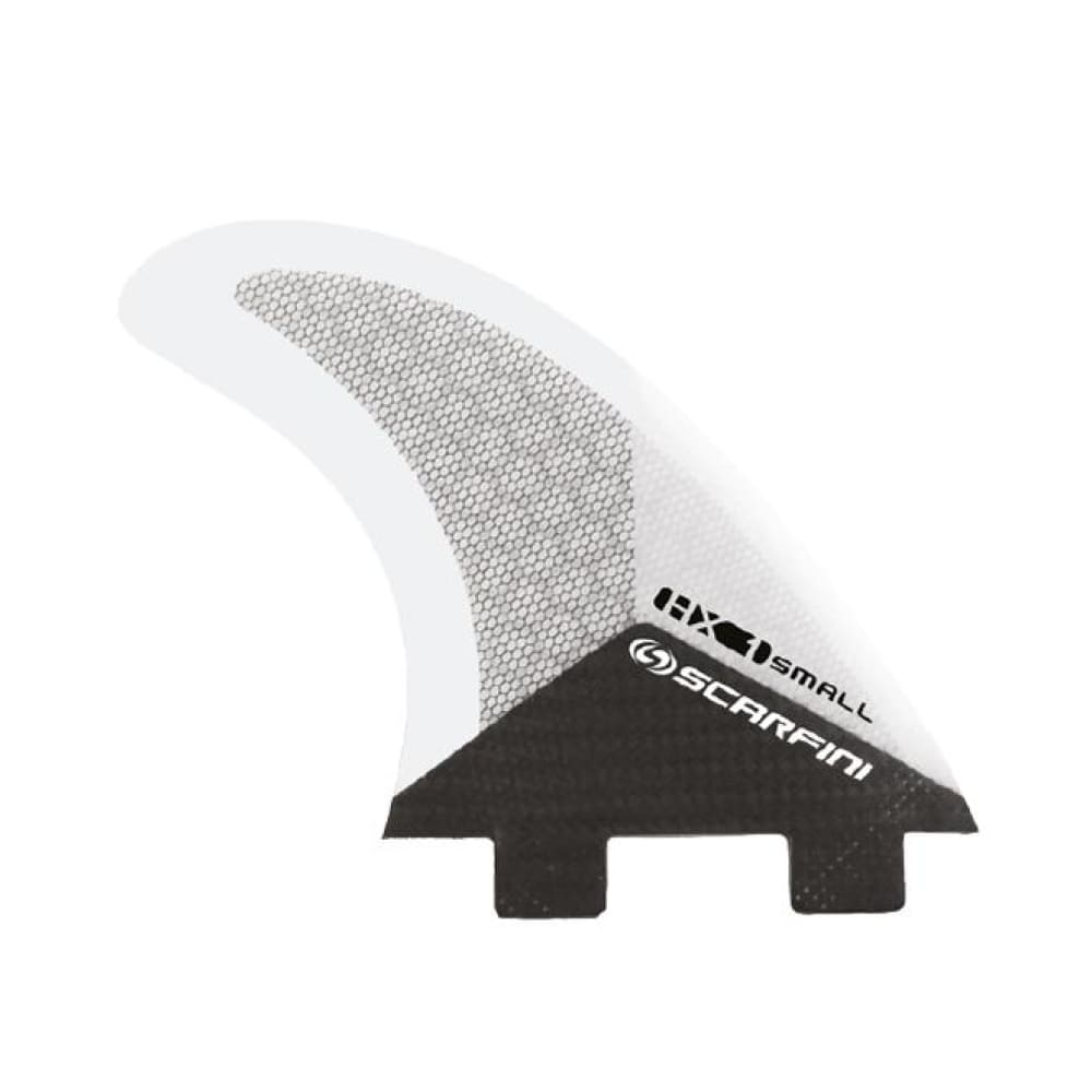 Scarfini Carbon Base Thruster Set - Small (White) - Scarfini - Thruster Fins