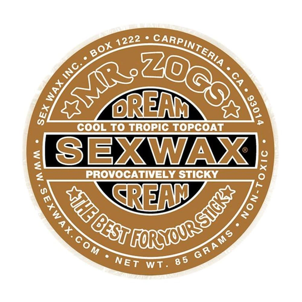 Sex Wax - Dream Cream Topcoat (Bronze/soft) - Sex Wax - Wax