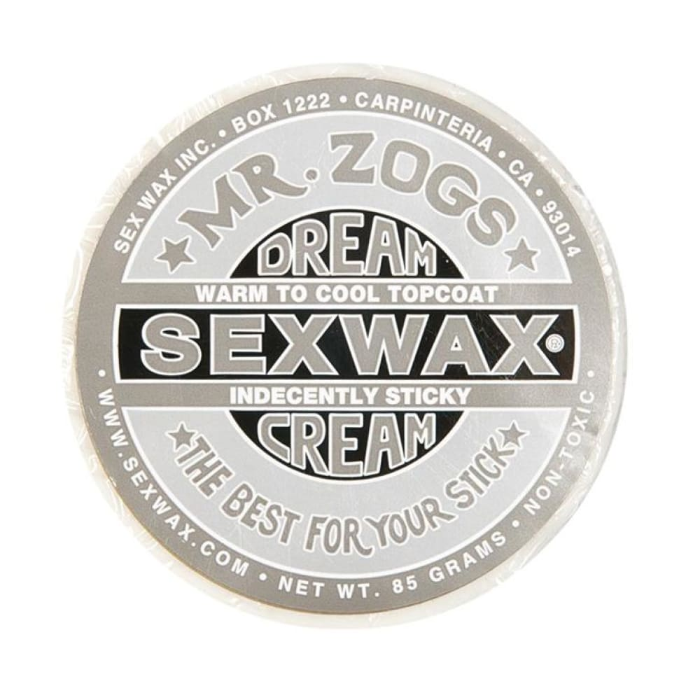 Sex Wax - Dream Cream Topcoat (Silver/soft) - Sex Wax - Wax