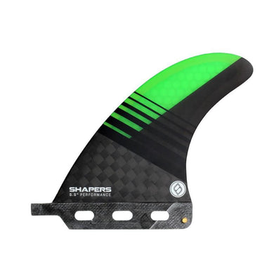 Shapers 5.5 Performance Longboard Fin - (Green) - Shapers - Longboard Fin