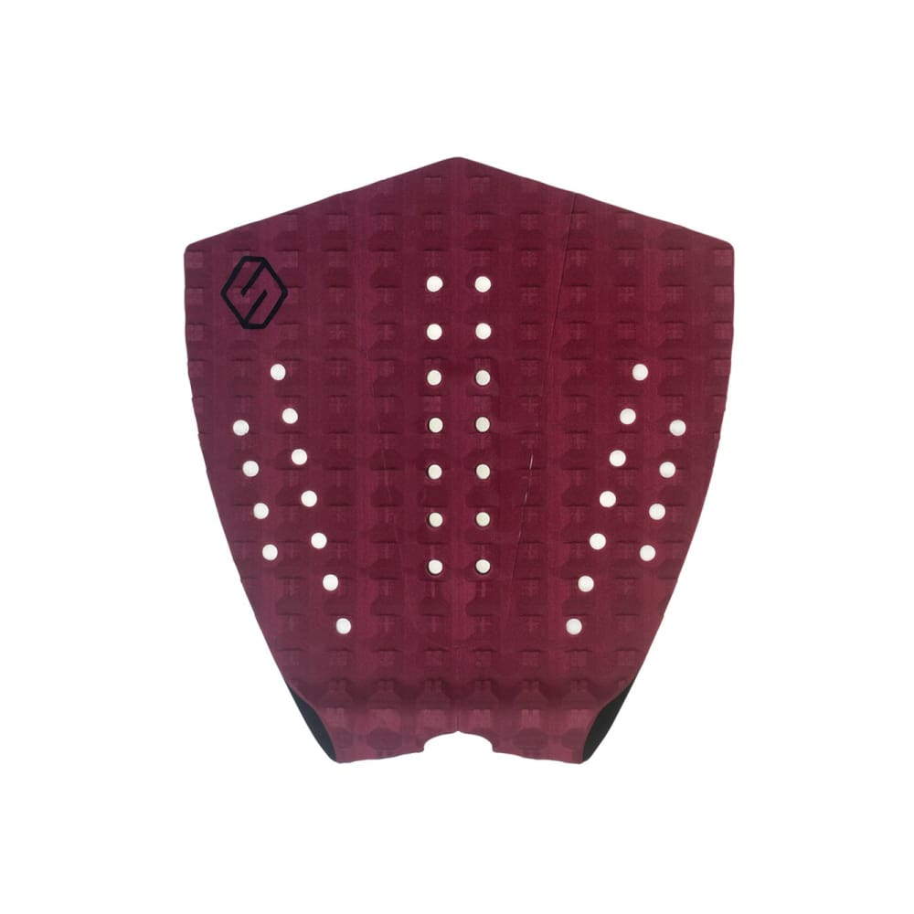Shapers Performance I Tail Pad - Burgundy (3 Piece) - Shapers - Tail Pads