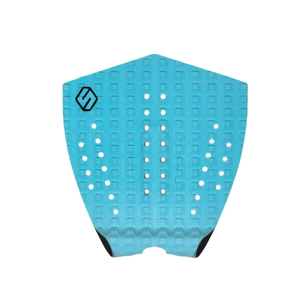 Shapers Performance I Tail Pad - Cyan (3 Piece) - Shapers - Tail Pads