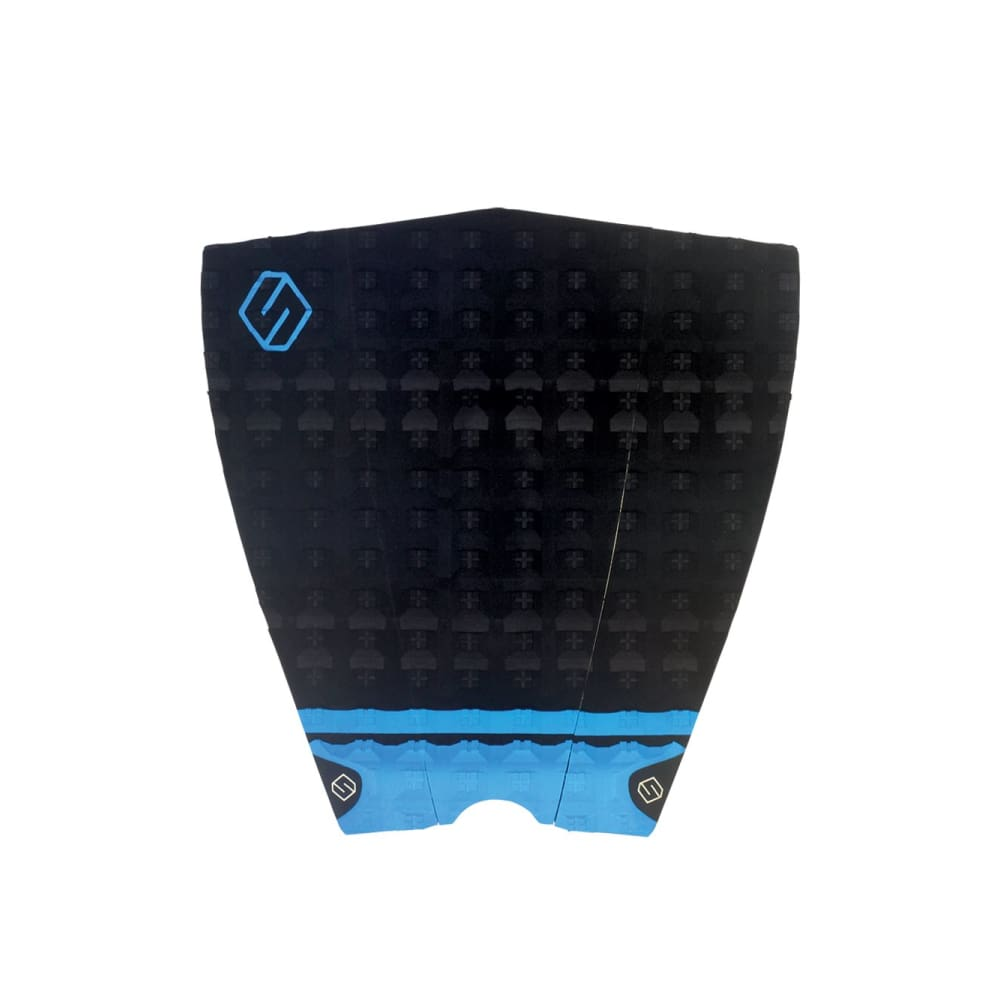 Shapers Performance Iii Tail Pad - Black / Blue (3 Piece) - Shapers - Tail Pads