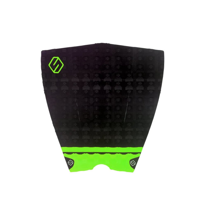 Shapers Performance Iii Tail Pad - Black / Green (3 Piece) - Shapers - Tail Pads