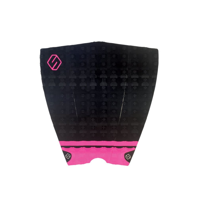 Shapers Performance Iii Tail Pad - Black / Pink (3 Piece) - Shapers - Tail Pads