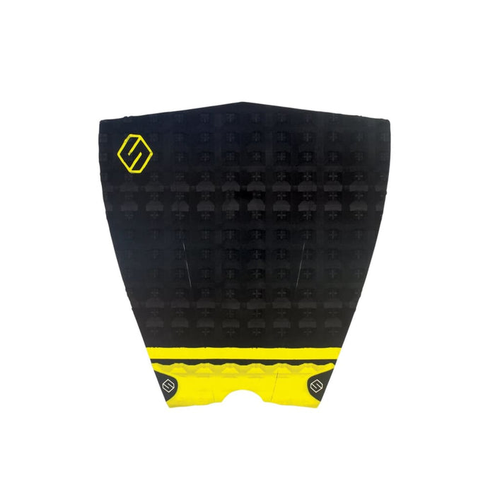 Shapers Performance Iii Tail Pad - Black / Yellow (3 Piece) - Shapers - Tail Pads