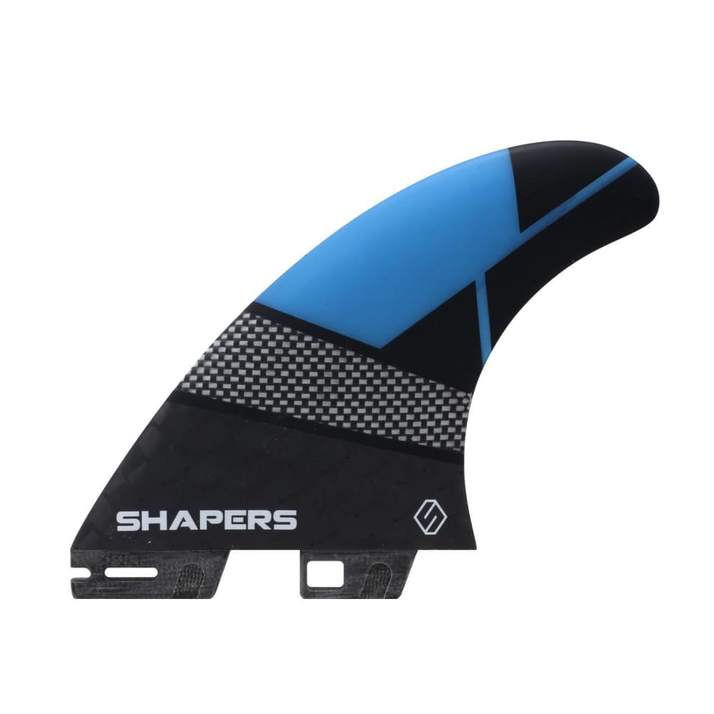 Shapers Spectrum Driver Thruster Fins - Medium/large (Blue) - Shapers - Thruster Fins