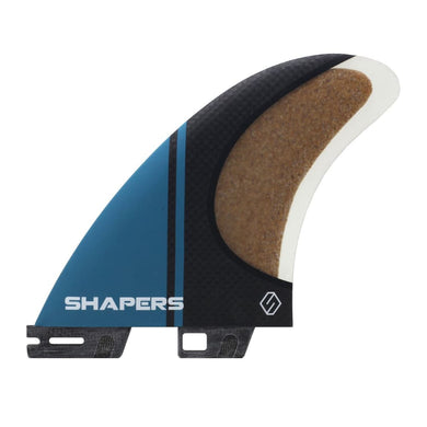 Shapers Stealth Pivot Thruster Fins - Large (Blue) - Shapers - Thruster Fins