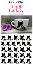 Doe Alphabet Stencil SVG JPEG Cut File Bundle Personal Use Only 26 Letters/Initials/Monograms