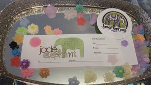 Free lampwork bracelet with your Jade Elephant Exclusive gift certificate!