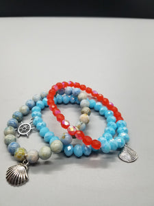 Just Beachy Stretch Bracelet Kit
