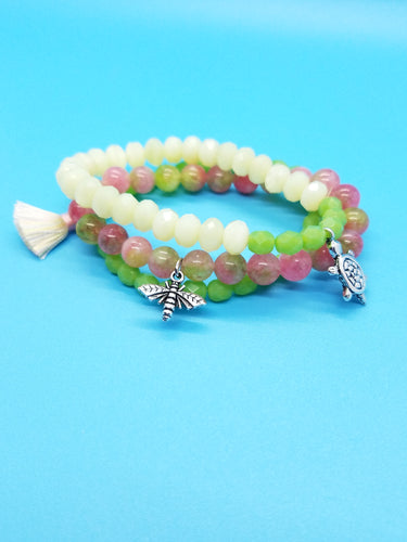 Spring Garden Stretch Bracelet Kit