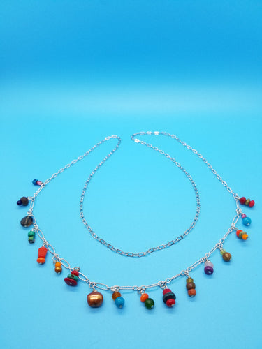 Long Fun Charmy Necklace