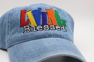 Living Blessed Dad Hat