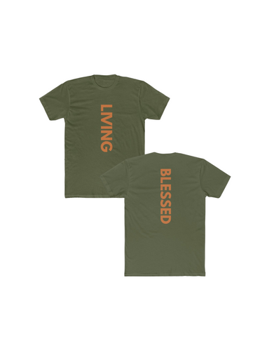 Army Living Blessed Tee