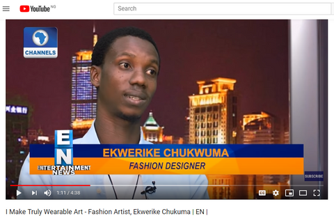 Youtube  interviews wuman brand designer
