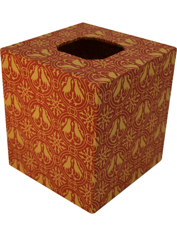 Tissue Box Cover in Firenze Italian Paper