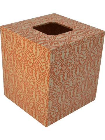 Tissue Box Cover in Ramage Italian Paper