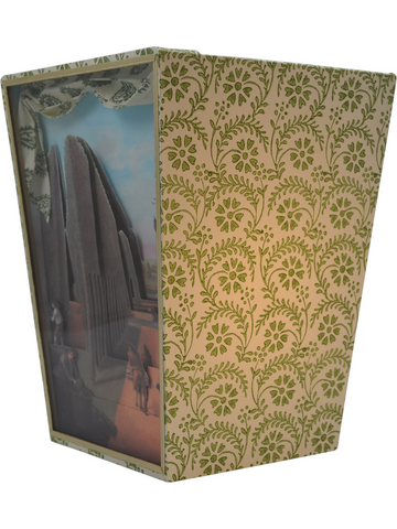 Hartwell House Diorama Cartonnage Waste Paper Basket