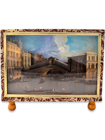 Rialto Bridge Canaletto Diorama Cartonnage | SOLD OUT (available in other paper)