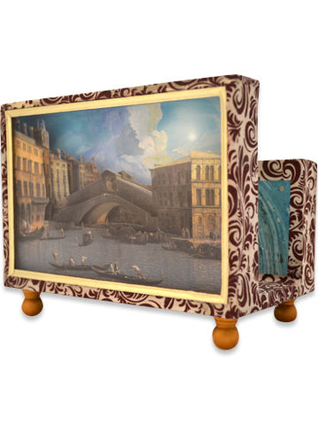 Rialto Bridge Canaletto Diorama Cartonnage