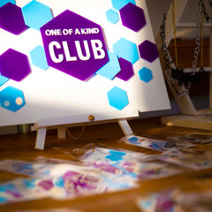 One of a Kind Club branding