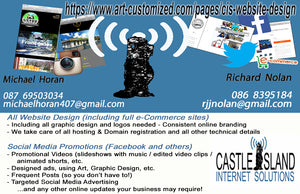 Art-customized Richard Nolan Graphic design illustration digital art castleisland kerry