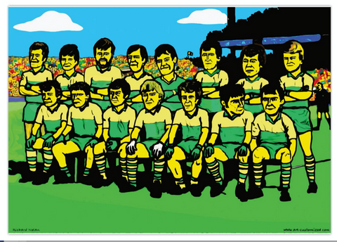 Kerry painting 1981 GAA Kingdom