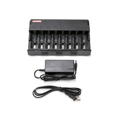 KLARUS C8 8-BAY UNIVERSAL BATTERY CHARGER For Halo