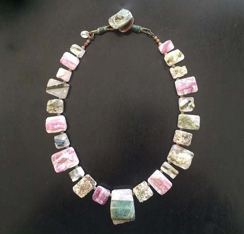 MiaLena Signature ~ one of a kind 'Healing' Tourmaline Necklace