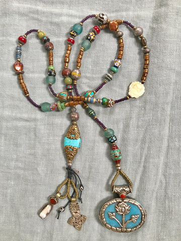 Prayer Bead Necklaces ~