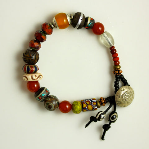 "Custom Bracelet - ""Peace & Happiness"""