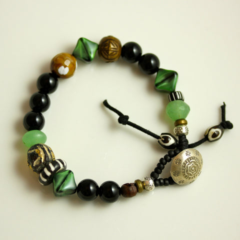 "Custom Bracelet - ""Peace & New Life"""