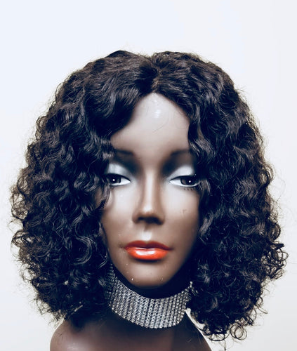 Ebony-Lace Closure Wig