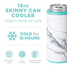 Load image into Gallery viewer, Marble Slab Skinny Can Cooler (12 0z)
