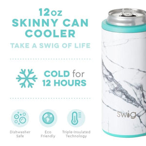 Marble Slab Skinny Can Cooler (12 0z)