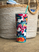 Load image into Gallery viewer, Color Swirl Tumbler (22 oz)