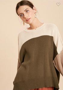 Inverted Seam Sweater