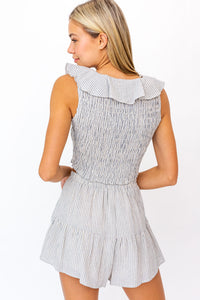 Lucia Ruffled Top