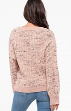 Load image into Gallery viewer, Dusty Pink Sweater