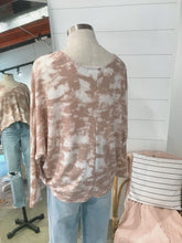 Load image into Gallery viewer, Blush Tie Dye Top