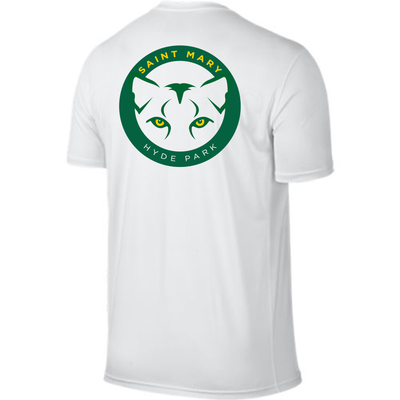 ST. MARY SCHOOL Crest Nike Legend Youth S/S Shirt