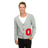 THE OHIO STATE UNIVERSITY Buckeyes Men's Gray Cardigan