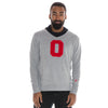THE OHIO STATE UNIVERSITY Buckeyes Men's Grey V-Neck Sweater