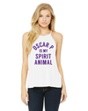 TARLETON STATE UNIVERSITY Texans Women's Spirit Animal Flowy High Neck Tank
