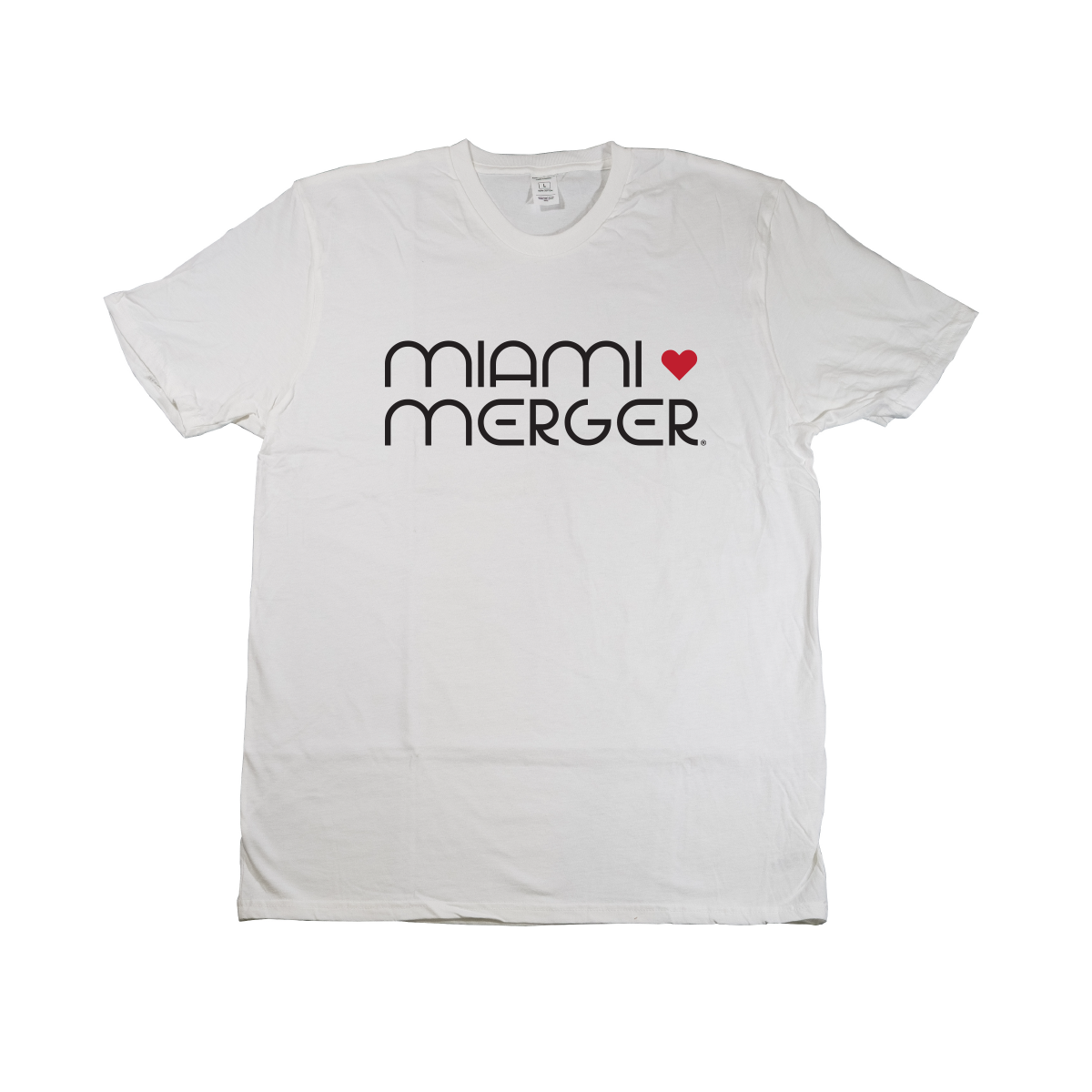 MIAMI UNIVERSITY Redhawks Miami Merger 80s Retro Crewneck Tee