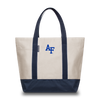 US AIR FORCE ACADEMY Falcons Hudson Sutler Weekender Tote Cream